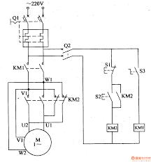 capacitor start motor wiring diagram forward reverse control at