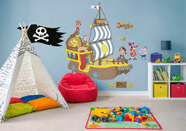 bucky the pirate ship jake and the neverland pirates wall decal