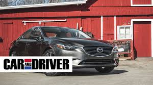 mazda 6 crossover mazda 6 review in 60 seconds car and driver youtube