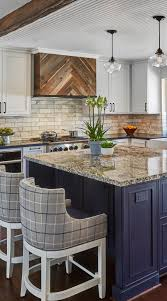 blue kitchen cabinets with granite countertops 31 luxury calacatta gold marble backsplash countertop