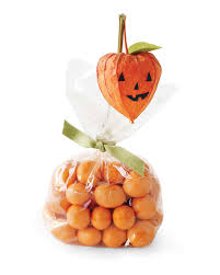 Halloween Pumpkin Crafts Halloween Treat Bags And Favors Martha Stewart