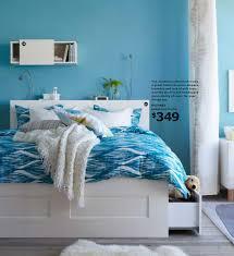 Ikea Bedroom Teenage Brimnes Queen Bed Frame 349 Ikea Catalogue 2013 Design