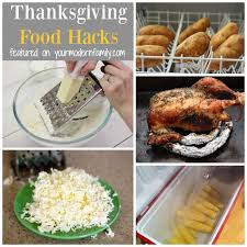 thanksgiving day hacks your modern family