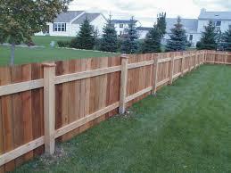 interesting backyard fence designs property of dining room decor