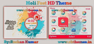 windows 10 themes for nokia asha 210 holi fest live hd theme for nokia c3 00 x2 01 asha 200 201 205