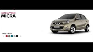 nissan micra xl price in india new nissan micra 2016 colour variants youtube