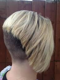 bobbed haircut with shingled npae 521 best 17903 blonde hair dark nape 3 images on pinterest