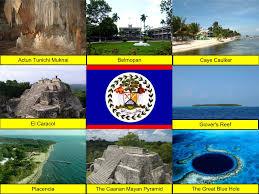 Belize Flag Belize Collage Hugh Fox Iii
