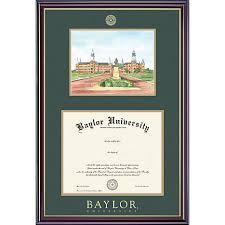 diploma framing baylor 11 x 14 diploma frame with