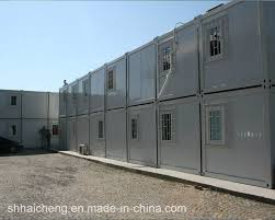 china ready made low cost prefab container house with bathroom
