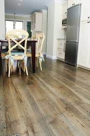 ash wood flooring contemporary kitchen boston by