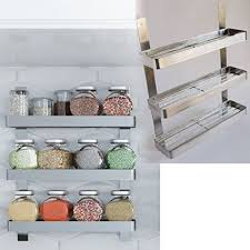Stainless Steel Wall Spice Rack 265 Best Spice Racks U0026 Storage Images On Pinterest Spice Racks