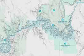 Grand Canyon National Park Map Area Maps Grandcanyoncvborg Maps Of Grand Canyon National Park My