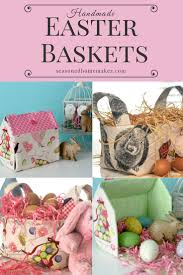 diy fabric easter basket ideas the seasoned homemaker