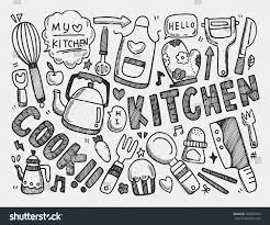 Kitchen Background Cooking Kitchen Background Stock Vector 236865754 Shutterstock