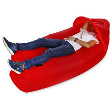 portable 300kg loading inflatable bed sofa with sun shade 32 52
