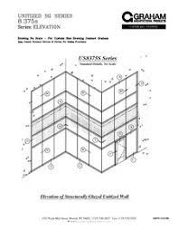 Unitized Curtain Wall Us8375s Series Unitized Curtain Wall System Graham Architectural