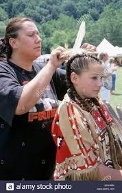 free mative american braids for hair photos native american family of a shawnee mother who ties a feather in
