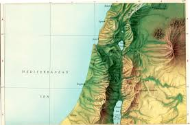 Map Of Israel And Palestine Maps Of The Israel Palestine