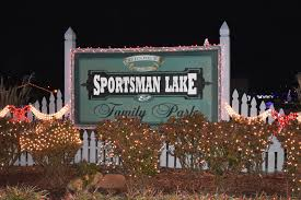 sportsman lake park cullman al christmas lights winter wonderland train ride sportsman lake park