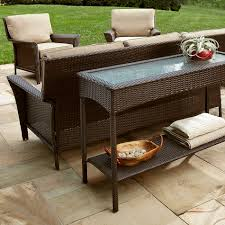 outdoor console table ty pennington style parkside console table outdoor living