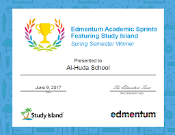 study island contest winner u2013 spring 2016 17 u2013 al huda pa
