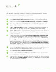 business analyst project manager sample resume download attractive