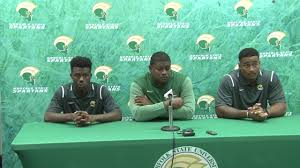 Football Conference Table Nsu Football Press Conference 8 30 2017 Youtube
