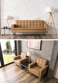 Modern Office Sofa Designs by Customized Modern Office Sofa Design 4 Pieces Stainless Steel