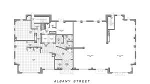 ground floor plan plans residence bumc