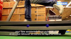 decathlon tapis de course youtube