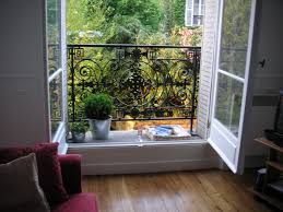escape to a balcony in paris tiny balcony balconies and paris