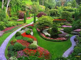 today the butchart gardens is one of the most beautiful gardens