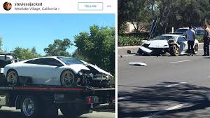 crashed lamborghini lamborghini murcielago crash u2013 idea di immagine auto