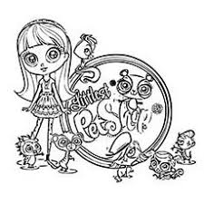 littlest pet shop coloring pages kids free printables