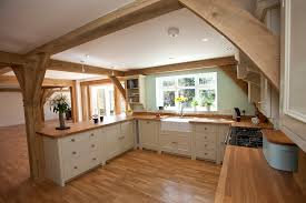 a frame kitchen ideas beautiful and simple fitted kitchen in a gorgoeus open space oak