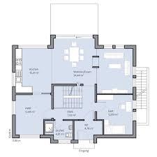 Haus Grundriss Hausgalerie Detailansicht Baumeister Haus Kooperation E V