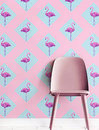 wallpaper with pink flamingos vibrant pink flamingo wallpaper adorable home