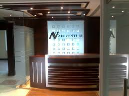 Small Reception Desk Ideas by Reception Table Designs For Office Interiors All About Interiors