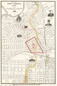 Dallas Fort Worth Area Map by The Fort Worth Gazette Where The Heck Was Hell U0027s Half Acre