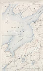 Map Of New York Harbor by Sackets Harbor Ny Quadrangle