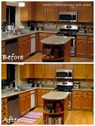 ideas to update kitchen with oak cabinets 7 ideas for updating rvs with wood cabinets without