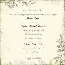 sles of wedding programs meval wedding invitation wording sles style by modernstork