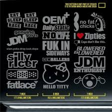 jdm car stickers car enthusiast stickers kamos sticker