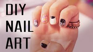 easy diy nail art step by step guide to glamour nails youtube