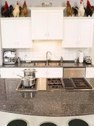 kitchen white tile stone kitchen backsplash with hardwood