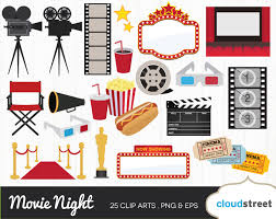 movie night clipart movie theater clip art cinema film