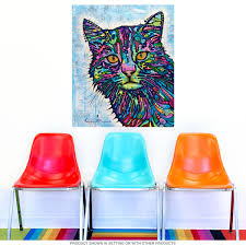 diligent cat dean russo pop art wall decal removable wall bizrate store ratings summary
