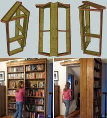 Minecraft Secret Bookshelf Door Secret Doors Diy U0026 Diy Secret Door