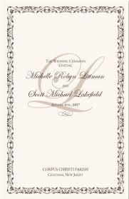 wedding program catholic catholic mass wedding ceremony catholic wedding traditions celtic